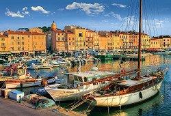 Старото пристанище в Сен Тропе -