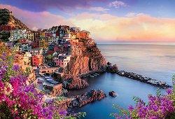 Изглед към Манарола, Италия - пъзел