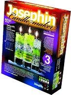 """Създай сам 3 декоративни свещи - Комплект 2 - Творчески комплект от серията """"Candlemaker"""" - творчески комплект"""