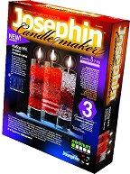 """Създай сам 3 декоративни свещи - Комплект 4 - Творчески комплект от серията """"Candlemaker"""" - творчески комплект"""
