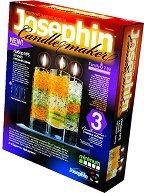 """Създай сам 3 декоративни свещи - Комплект 5 - Творчески комплект от серията """"Candlemaker"""" - творчески комплект"""