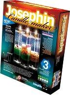 """Създай сам 3 декоративни свещи на морска тема - Комплект 4 - Творчески комплект от серията """"Candlemaker"""" - творчески комплект"""