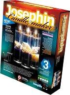 """Създай сам 3 декоративни свещи на морска тема - Комплект 5 - Творчески комплект от серията """"Candlemaker"""" - играчка"""