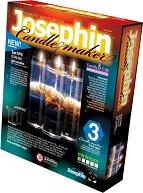 """Създай сам 3 декоративни свещи на морска тема - Комплект 6 - Творчески комплект от серията """"Candlemaker"""" - творчески комплект"""