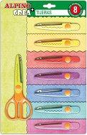 Ножица за декоративно рязане 8 в 1 - Комплект с 8 остриета