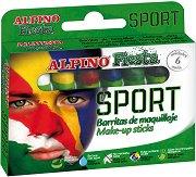 """Бои за лице - Sport - Комплект от 6 цвята от серията """"Fiesta"""""""