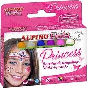 """Бои за лице - Принцеса - Комплект от 6 цвята от серията """"Fiesta"""""""