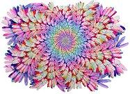 Magic Flower - Ръчно изработен дървен пъзел -