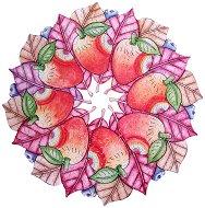Fruity Cirle - Ръчно изработен дървен пъзел - пъзел