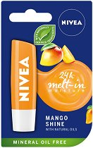 Nivea Mango Shine Lip Balm - балсам