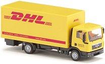 """Камион - Man TGL DHL - Метална играчка от серията """"Super: Local community services"""" - количка"""