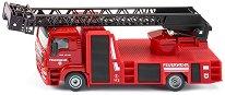 """Пожарникарски камион - Man - Метална играчка от серията """"Super: Emergency rescue"""" -"""