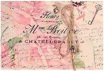 Поздравителна картичка - Рози -