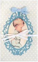 Поздравителна картичка - Момченце -