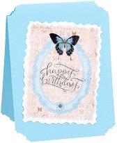 Поздравителна картичка - Happy Birthday -
