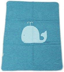 """Бебешко одеяло - Кит - Размери 70 x 90 cm от серия """"Juwel"""" -"""