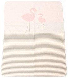 """Бебешко одеяло - Фламинго - Размери 70 x 90 cm от серия """"Juwel"""" -"""