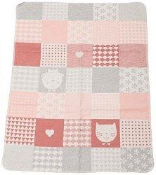 """Бебешко одеяло - Pets - Размери 70 x 90 cm от серия """"Juwel"""" -"""