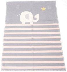 """Бебешко одеяло - Слонче - Размери 75 x 100 cm от серия """"Lena"""" -"""