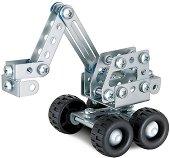 """Багер - Детски метален конструктор от серията """"Eitech: Starter"""" - играчка"""