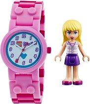 """Детски ръчен часовник - LEGO Friends: Stephanie - От серията """"LEGO: Friends"""""""