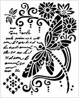 Шаблон - Водно конче и надписи