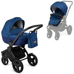 Бебешка количка 2 в 1 - Flow - С 4 колела -
