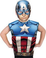 Парти костюм - Капитан Америка - играчка
