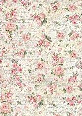 Декупажна хартия - Рози - Формат А3