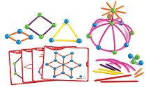 Геометрични фигури - Детски конструктор - играчка