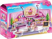 "Сладкарница - Детски конструктор от серията ""Playmobil: City Life"" -"