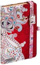 Lanybook: Луксозен джобен бележник с огледало - Формат A6 -