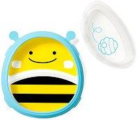 """Купичка и чиния за хранене - Пчеличката Бруклин - За бебета над 6 месеца от серията """"Zoo"""" -"""