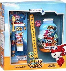 """Детски подаръчен комплект - С козметика от серията """"Super Wings"""" - продукт"""
