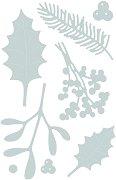 Щанци за машина за изрязване и релеф - Winter Foliage - Комплект от 8 броя с размери от 1.3 до 6.7 cm
