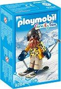 """Скиор фрирайдър - Фигура с аксесоари от серията """" Playmobil: Family Fun"""" - играчка"""