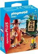 """Каубой - Детски конструктор от серията """"Playmobil: Special Plus"""" - играчка"""