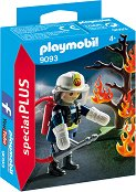 "Пожарникар - Детски конструктор от серията ""Playmobil: Special Plus"" -"
