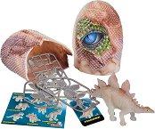Динозавърско яйце с фигурка и аксесоари -