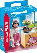 """Сладкарка - Фигура с аксесоари от серията """"Playmobil: Special Plus"""" -"""