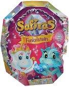 """Дракон Safiras - Фигура - изненада от серията """"Safiras: Glitter Wings"""" - играчка"""