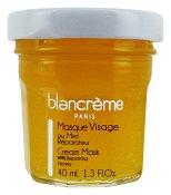 Blancreme Cream Face Mask with Repairing Honey - Маска за лице за суха кожа с мед в стъклено бурканче - продукт