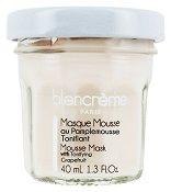 Blancreme Mousse Face Mask with Tonifying Grapefruit - Тонизираща мус маска за лице с грейпфрут в стъклено бурканче - продукт