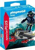 """Небесен рицар с джет - Детски конструктор от серията """"Playmobil: Special Plus"""" - фигура"""
