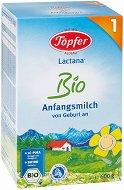 Мляко за кърмачета - Lactana Bio 1 - Опаковка от 600 g за бебета от 0 до 6 месеца - шише