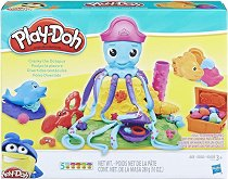 Октоподчето Кранки - Творчески комплект с моделин - играчка