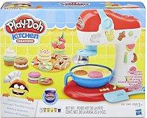 """Преса за сладки - Творчески комплект с моделин от серията """"Play-Doh: Kitchen"""" -"""