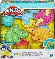 Динозаври - Творчески комплект с моделин -