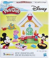Къщичката на Мики Маус - Творчески комплект с моделин - играчка