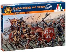 Английски рицари и стрелци - Комплект от 34 фигури -